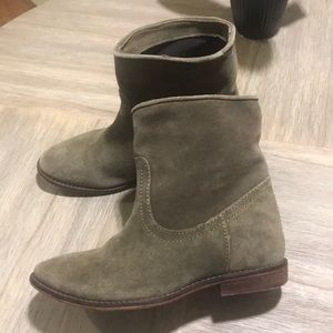 Mango Touch Suede Booties